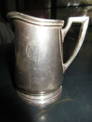 International Silver Co. Silver Soldered Creamer Bull Lines
