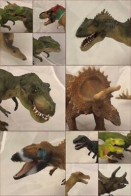 Dinosaurs - Lot Bundle Large Models Schleich CollectA Papo Tyrannosaurus etc