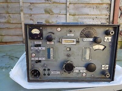 WWII German Tornister Empfänger Berta ( Torn.E.b) Radio, non working