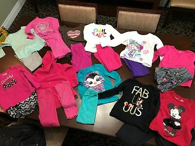 Huge Lot Girls Clothes Size 5T and Size 5 Winter and Fall Clothes