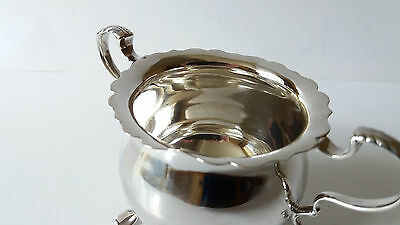 Mappin And Webb Solid Sterling Silver Sugar Bowl Hallmarked London 1928