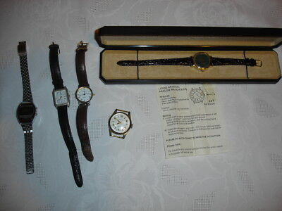 Collection of watches Digital & Analogue Battery & Windup