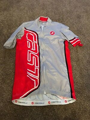 Castelli Grey short sleeved jersey small NEW (tags removed - never worn) Genuine