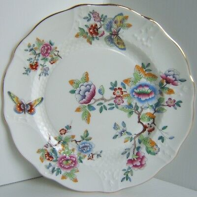 Aynsley Butterflies Fine Bone China Plate - Hand Made in England - VGC