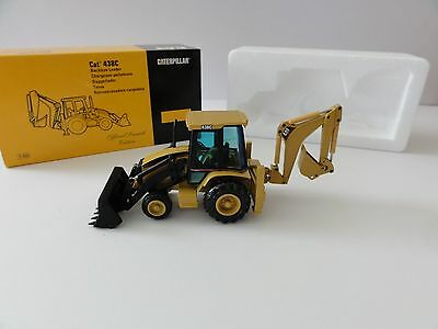 "Caterpillar 438C Backhoe Loader-""OFFICIAL LAUNCH""-1/50-NZG #430 -NEW -NO RESERVE"