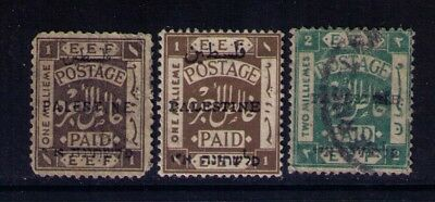 Palestine early stamps SC# 15x2 ;16 Used/MH,CV:$13.00