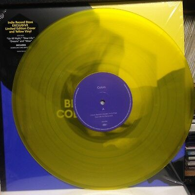BECK - COLORS (2017) YELLOW VINYL LP - NEW Indies Edition - 500 Only