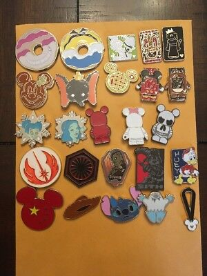☀️disney Trading Pin Lot Of 15 Pins Collection Disneyland Exactly These Pins