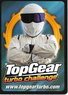Nissan Cube #293 Top Gear Turbo Challenge Trade Card C362