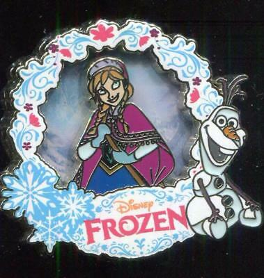 DLP Frozen Anna and Olaf LE 600 Disney Pin 99143