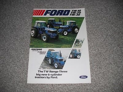 Ford TW-10,TW-20.TW-30 TRACTOR BROCHURE