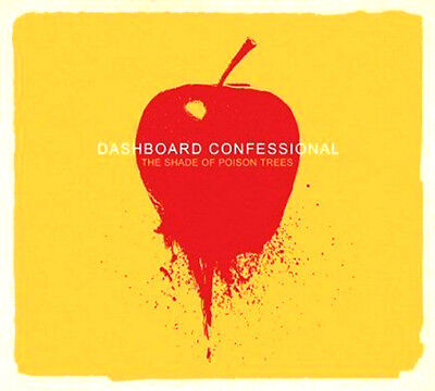 DASHBOARD CONFESSIONAL THE SHADE OF POISON TREES CD Digipak Album MINT/EX/MINT *