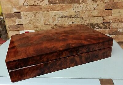 Antique Burr Walnut box