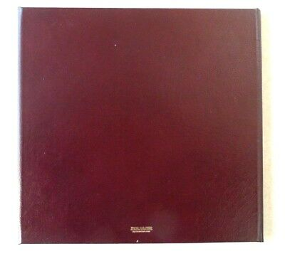 1 LEATHER Winged Portfolio Complete with Overlays, 1 Burgundy