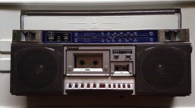 Vintage FISHER Metal Micro Cassette Boombox Stereo PH-M77 Microcassette Works