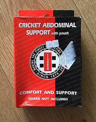 Gray Nicolls Boys Cricket Abdominal Support With Pouch- BRAND NEW