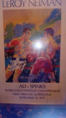 Boxing poster for sale....the great Ali v Spinks