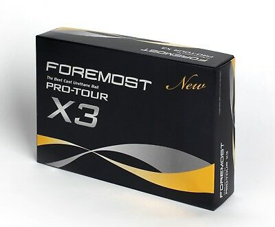 NEW Foremost Pro-Tour X3 - 3 DOz