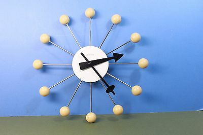 George Nelson,atomic balls wall clock. (ref A54)