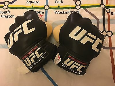 UFC Plush Fight Gloves OFFICIAL BNWT MMA McGregor Lesnar GSP RARE
