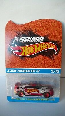 2014 Hot Wheels Mexico 7th Convention 2009 Nissan GT-R 3/10