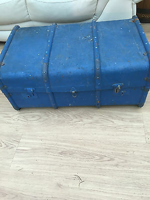 Bentwood Trunk =='harry Potter' Vintage Item =Ideal Project==Trendy Coffee Table