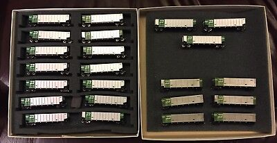 BN  Beth Gon 23 car set Kato & Deluxe Innovations with MIcro Trains weathered