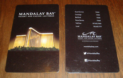 Mandalay Bay DELANO Hotel Room Key Card Las Vegas Resot & Casino Vegas Strong