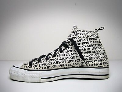 Men's Vintage Converse Shoes - Chuck Taylor - Made in USA - Size 12 - High Top