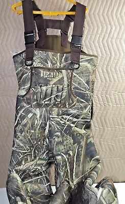 RedHead 800 Gram Thinsulate Boot-Foot Waders for Men Size 11 Camoflage Waterproo