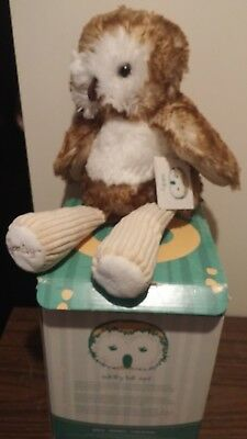 Scentsy Buddy Oakley the Owl NIB comes with Scent Pak