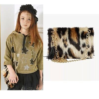 Miss Grant Couture - Girls Stunning Faux Fur Shoulder Bag - Fall/Winter17 Sample
