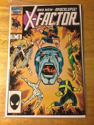 X-Factor #6 (Jul 1986, Marvel) First Appearance Of Apocalypse