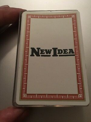 New Idea Playing Cards