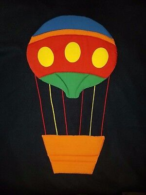 Hot Air Balloon Nursery Wall Decor Hanging ~ Padded/puffy