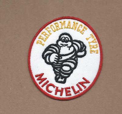 "MICHELIN Man Tires Car Truck Embroidered Patch~Iron Sew On~3 1//2/"" x 3/""~FREE Mail"