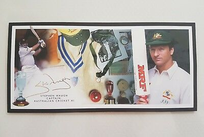 Steve waugh limited edition Gold Signature Card