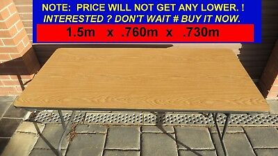 TABLE (Trestle) Excellent Quality # Made in U.S.A. VALUE-Heavy Duty