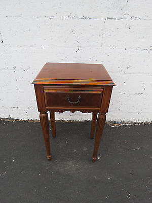 Walnut Nightstand End Side Table 8492