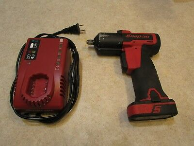 "Lot#2 Snap-On Tools Ct761 14 Volt 3/8"" Drive Impact Wrench With Bat & Charger"