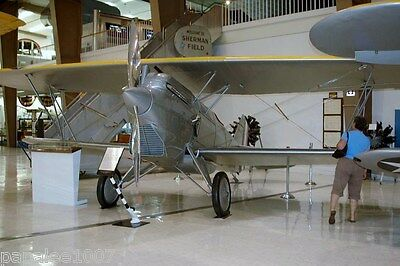 """Model Airplane Plans (RC):  Curtiss F6C-1 Hawk 1/6 Scale 62"""" Biplane for .60"""