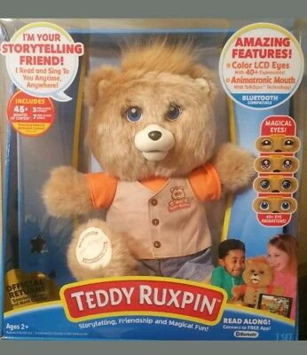 TEDDY RUXPIN 2017 Official Return Story Time and Magical Bear