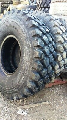14.00R20 XZL Michelin Military Mud Tire. Recent production date