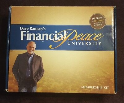 Dave Ramsey's Financial Peace University Membership Kit (Partial Kit)