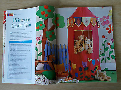 Machine Embroidery & Textile Art Vol 15 #5~Princess Castle Tent~Quillow~Bag~