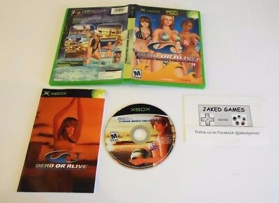 Used Complete Dead or Alive: Xtreme Beach Volleyball Xbox Free Shipping!