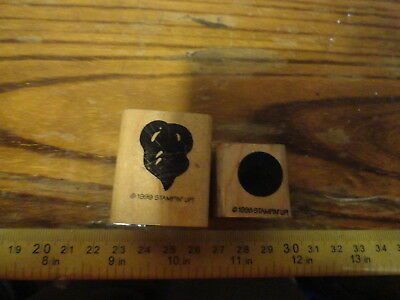 Set of  2 Stamps, Circle and random stamp