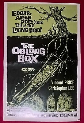 The Oblong Box   ,  1969 ,original-  Press Book