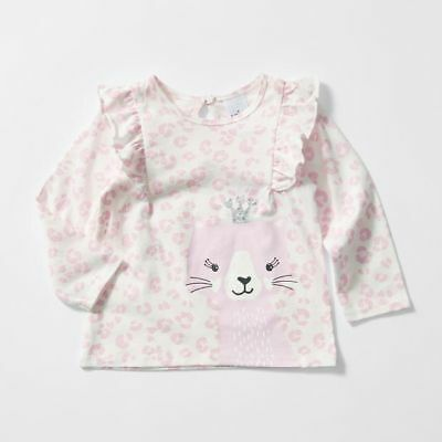 NEW Baby Long Sleeve Frill Top