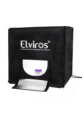 Elviros Professional 16''x16''x16'' Photo Lighting Studio Shooting Tent Box Kit